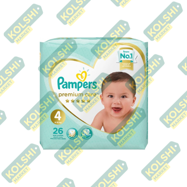 Couche Pampers Premium N4 26P
