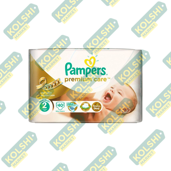 Couche Pampers Premium N2 40P