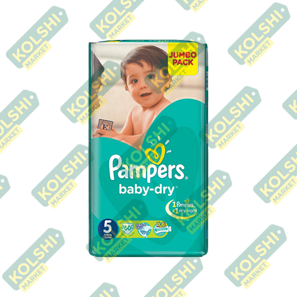 Couche Pampers N5 60P