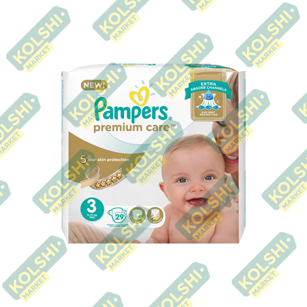 Couche Pampers Premium N3 29P