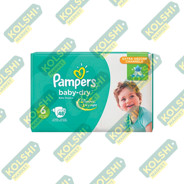 Couche Pampers N6 48P